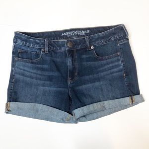 American Eagle 360 Super Stretchy Jean Shorts 14